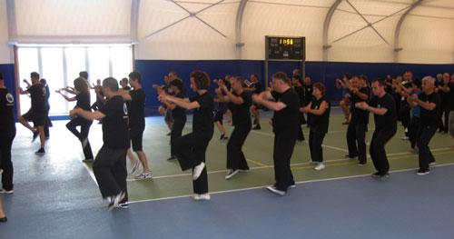 Тренировка по Тай Чи на Световна та Асоциация