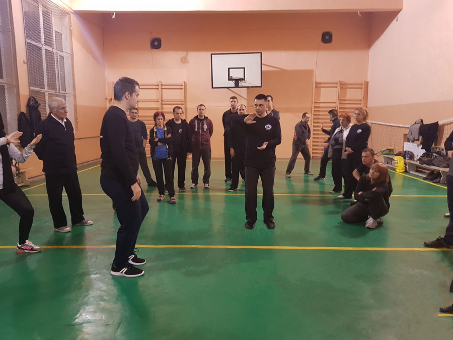 Тренировка по Тай Чи Пловдив