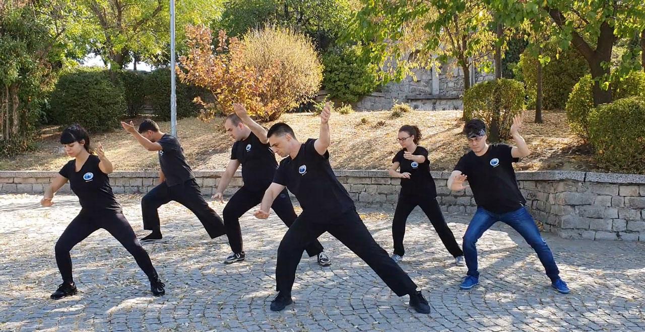 Тай Чи тренировка на открито в Пловдив