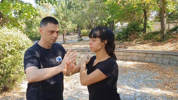 Тай Чи упражнения с партньор