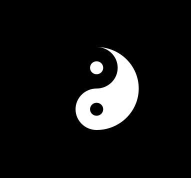 Символът на тай чи заедно с осемте триграми