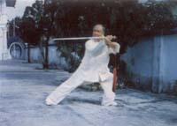 Человек, практикующий тайцзи