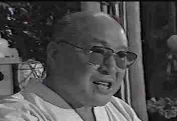 The late Sosai Mas Oyama, Founder of Kyokushin Karate