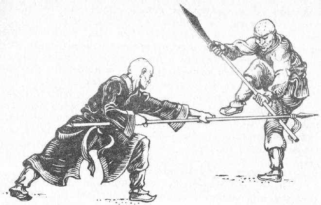 Тренировка на Шаолински монаси.