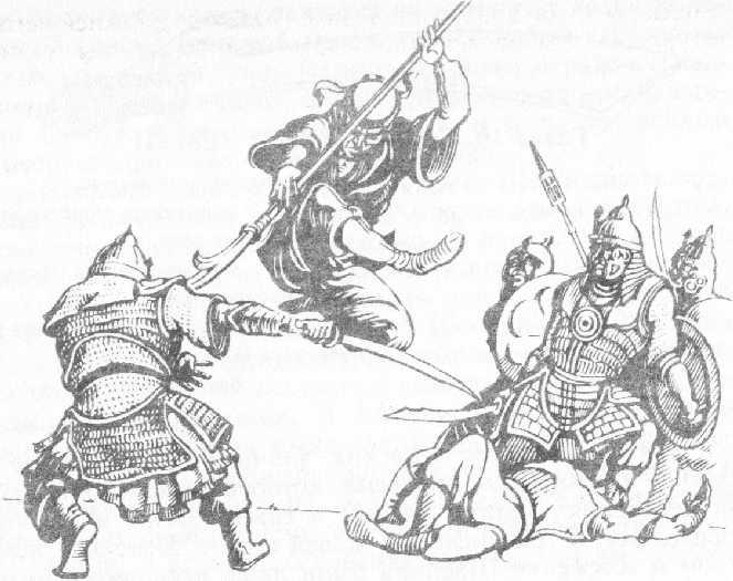 """Боец на """"Триадата"""" в схватка с манджурците"""