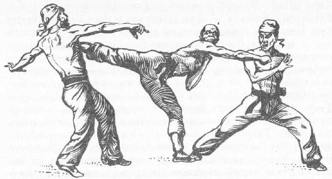 """Тренировка на бойци от """"Триадата""""."""