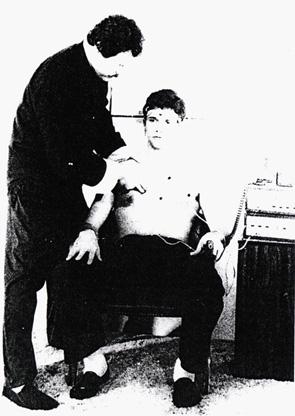 Д-р Джон Пейнтър и един доброволец