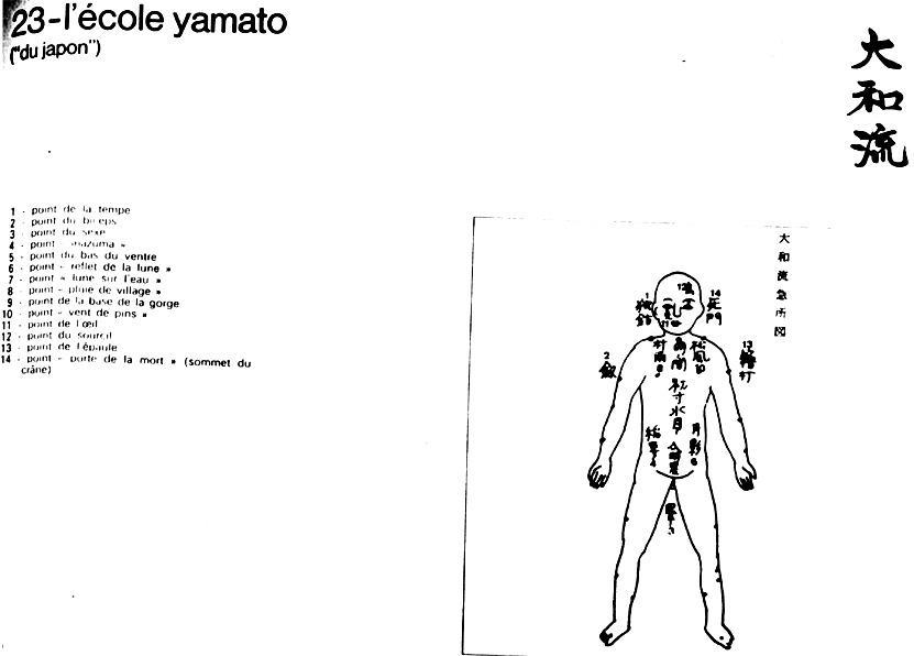 Японска книга за виталните точки - 33 страница