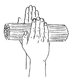 Изкуство за масажиране на дланите