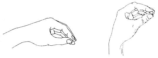 """Изкуство на """"пръстите-скоби"""""""