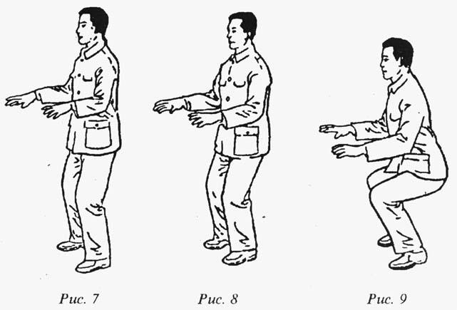 """Упражненията в стойка """"да стоиш като стълб"""" 2"""