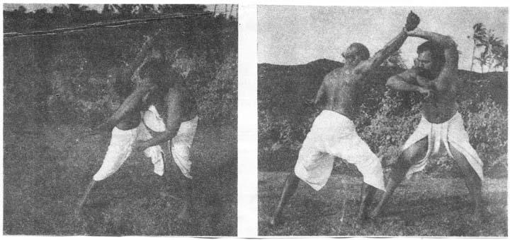 Бойци от Каларипаят
