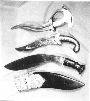 Оръжия Използвани в каларипаят