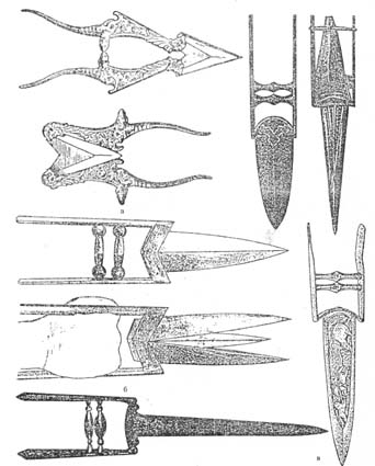 Различни видове катари от 18-19 век