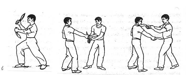 Тренировъчни схватки със сърповидни ножове - кукри