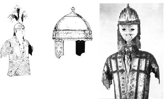 Индийски брони и шлемове от XVIIIв