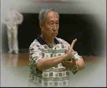 Tai chi master in China