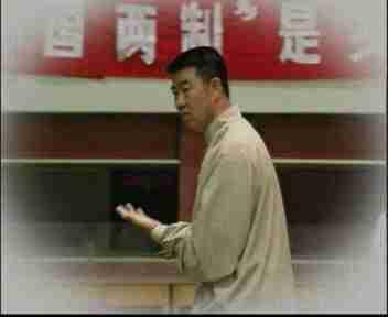 Chinese tai chi master