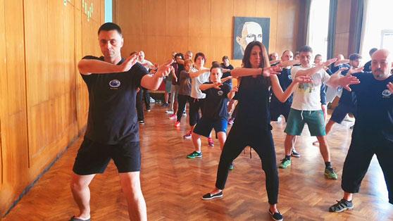 Тренировка по Тай Чи в София