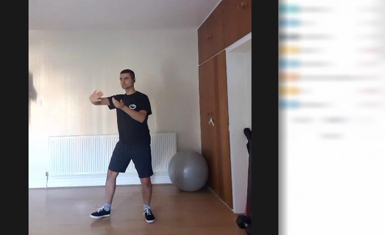 Тренировка по тай чи онлайн на живо