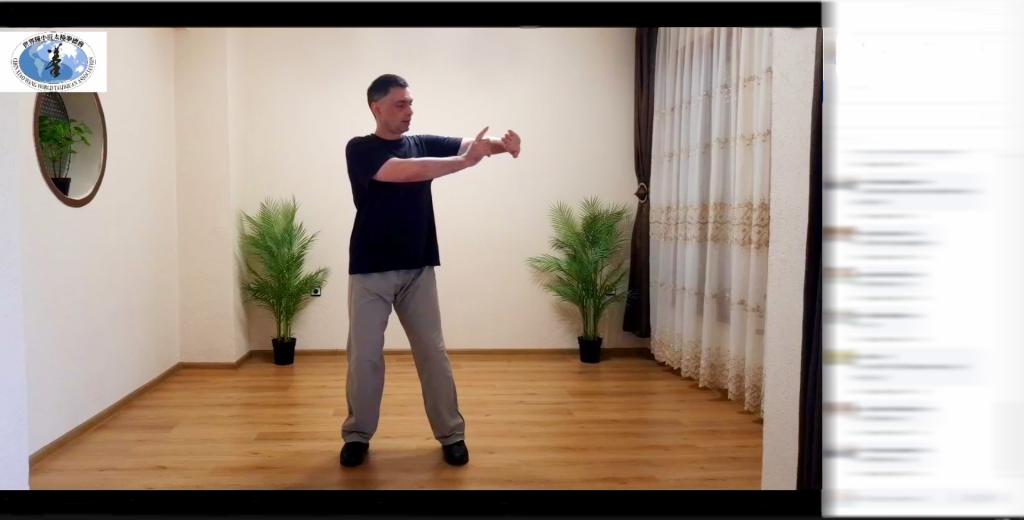 Тренировка онлайн по Тай Чи с Майстор Сомов